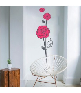 Vinil decoratiu Roses