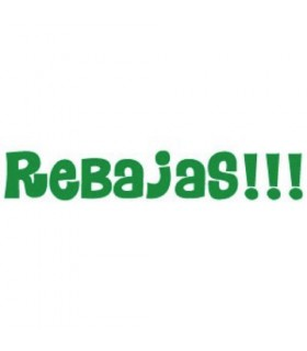 Letras Rebajas